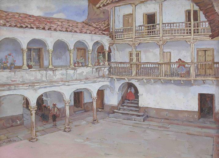 Matthis Leonie - patio colonial