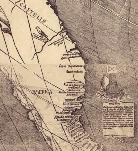 Waldseemuller origen palabra america